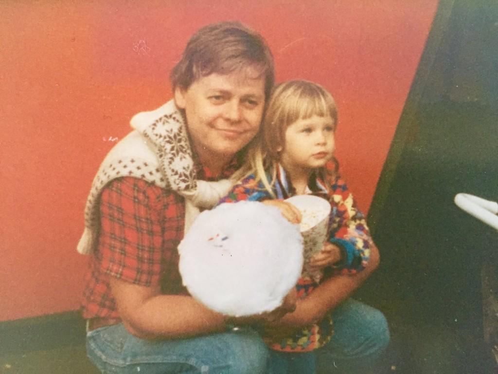 Pappa och Pernilla 1977