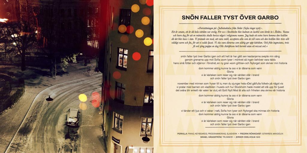 Snön faller tyst över Garbo